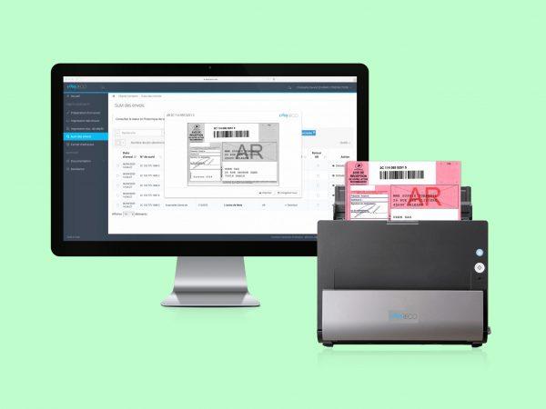 Gestion des numérisations d'avis de réception avec scanner Trackway-easyReco