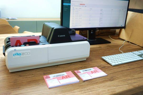 Scanner Traceo VIP pour le contrôle automatisé des réceptions postales
