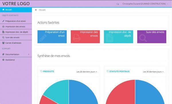Exemple d'interface Client personnalisable